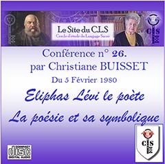Conférence audio n°26 - La poésie et sa symbolique