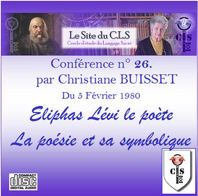 Conférence audio n°26 - La poésie et sa symbolqiue